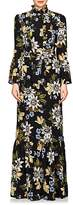 Erdem Women's Stephanie Floral Silk Gown