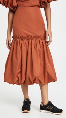Edit Bubble Hem Skirt