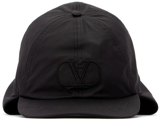 Valentino Embroidered Logo Side Lace Cap