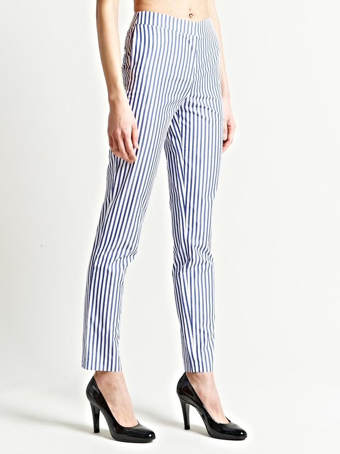 J.W.Anderson Women's Striped Shirting Trousers