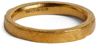 Alighieri Yellow Gold-Plated Silver The Limit Ring