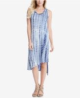 Karen Kane Stevie Asymmetrical Tie-Dyed Tank Dress