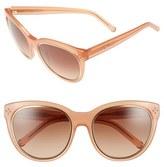 Chloé Women's 'Boxwood' 56Mm Sunglasses - Peach