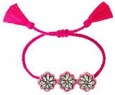 Shourouk Pink Flower Bracelet
