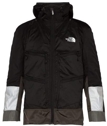 Junya Watanabe X The North Face Backpack Nylon Coat - Mens - Black