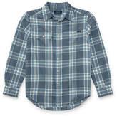 Ralph Lauren Childrenswear Plaid Twill Sport Shirt