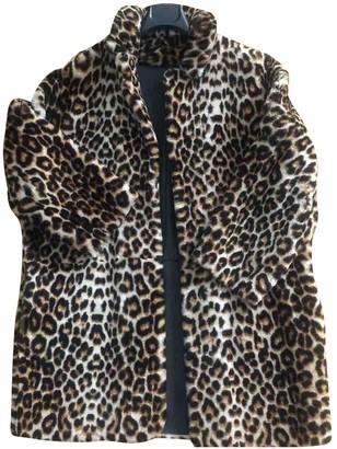 Sandro Fall Winter 2019 Fur Coat for Women