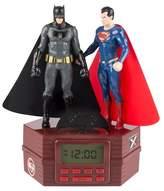 DC Comics Superman Batman Alarm Clock Radio (CR2-02394)