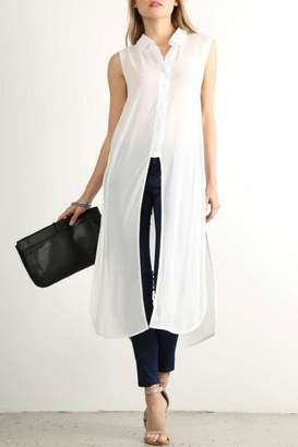 Mystree Long Shirt Dress