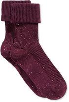 Hue Women's Triple Roll Tweed Socks