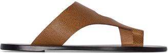 ATP ATELIER Roma leather sandals