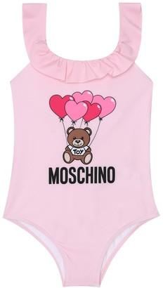 MOSCHINO BAMBINO Printed swimsuit