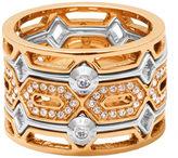 Henri Bendel Chrysler Cut Out Ring