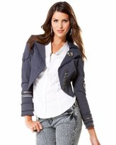 Twill Asymmetric Patch Jacket
