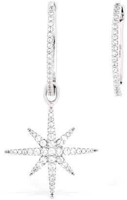 Apm Monaco Meteorites Asymmetric Silver Earrings