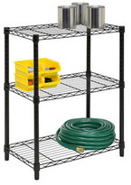 "Honey-Can-Do 30"" H 3 Shelf Shelving Unit Starter"