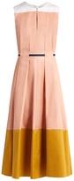 Roksanda Mariko tri-colour midi dress