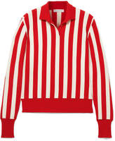 J.W.Anderson Striped Wool-blend Sweater - Red