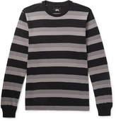 Stüssy - Striped Cotton-jersey T-shirt