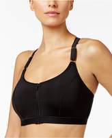 Natori Yogi Zip-Front Wireless High-Impact Sports Bra 736050