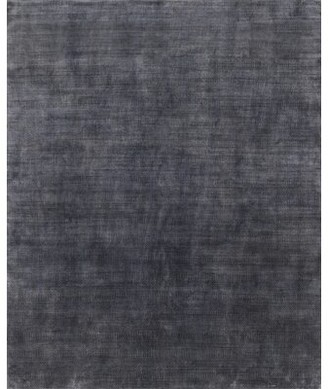 """Loloi Rugs ELLIOT Hand-Knotted Black Area Rug Rug Size: Rectangle 7'9"""" x 9'9"""""""