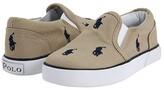 Polo Ralph Lauren Bal Harbour Repeat SS11 (Infant/Toddler) (Khaki/Navy Canvas) Boys Shoes