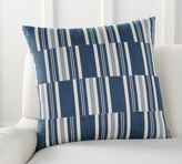 Pottery Barn Patchwork Stripe Pillow Cover