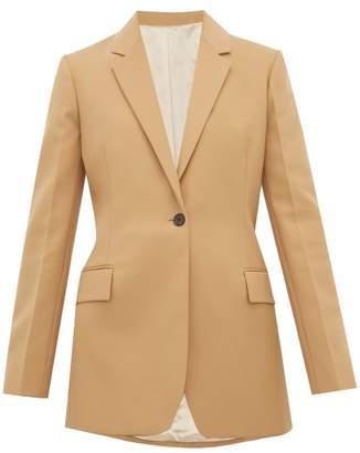Joseph John Single-breasted Slim-fit Blazer - Womens - Camel