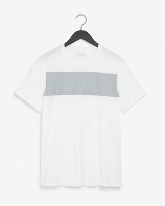 Express White Logo Graphic T-Shirt