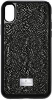 Swarovski Glam Rock Smartphone Case with Bumper, iPhone® X, Black
