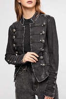 Free People Fitted Military Jacket