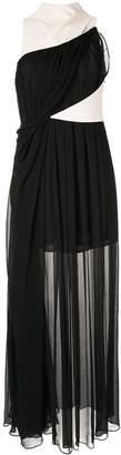 Bianca Spender Berlin colour-block gown