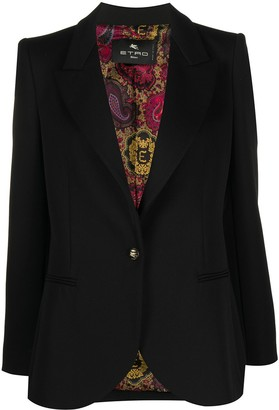 Etro Single-Button Blazer