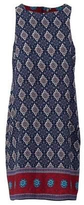 Dorothy Perkins Womens *Izabel London Navy Kaleidoscope Print Dress, Navy