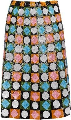 La DoubleJ Sequin Skirt