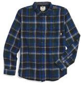 Vans Boy's Elm Plaid Flannel Shirt