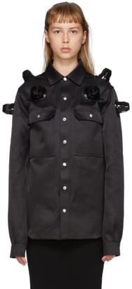 Rick Owens Black Metal Stud Jacket