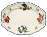 "Villeroy & Boch Cottage Inn"" Oval Platter, 11.75"""