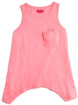 Menu Girls' Heart Pocket Tank - Sizes XS-XL