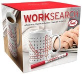 Fred & Friends Work Search Word Search Mug