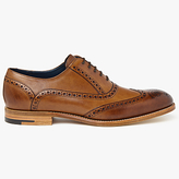Barker Valiant Hand Painted Oxford Brogues, Brown