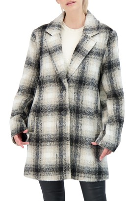 Sebby Collection Single Breasted Topper Coat