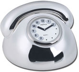 Natico Originals 10-1160 Silver Telephone Clock