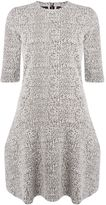 Calvin Klein Dermione 34 sleeve flair dress