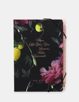 Ted Baker A5 Notebook With Sticky Notes