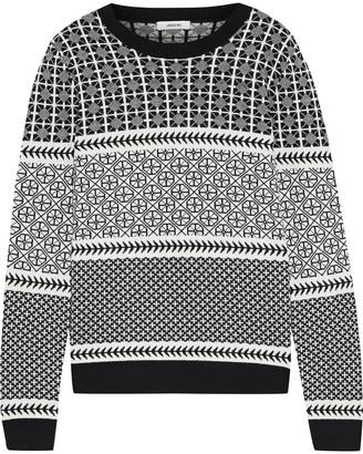 Jason Wu Merino Wool-blend Jacquard Sweater