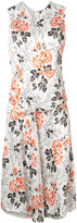 Victoria Beckham floral print dress - women - Silk/Viscose - 8