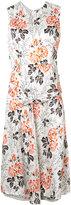 Victoria Beckham floral print dress - women - Viscose/Silk - 8