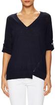 Zadig & Voltaire Rilby Cotton V-Neck Sweater