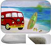 xmarc Vw Bus Beach House Bathmat From Art (20 x 15)